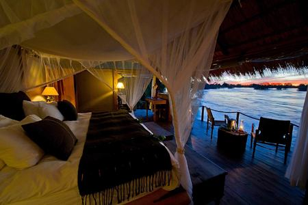 romantic hideaway on the zambezi at tongabezi hotel zambia