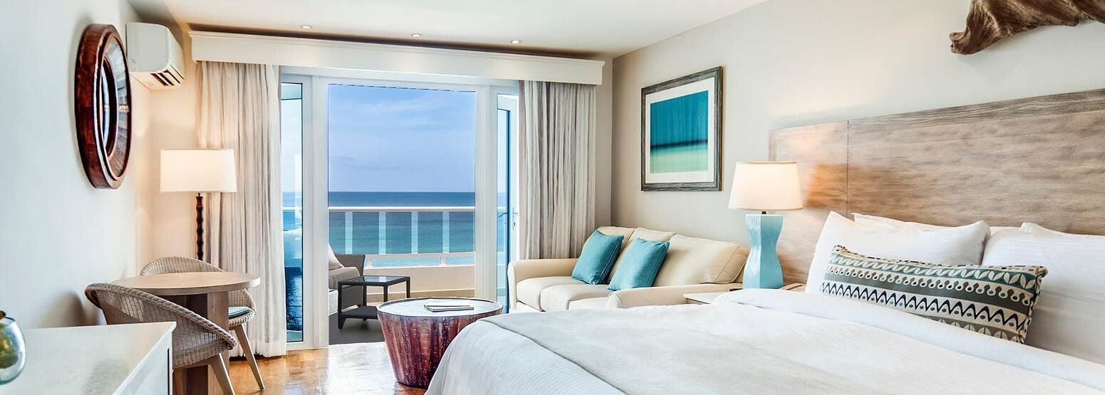 Bedroom 2 at Waves Hotel and Spa Barbados