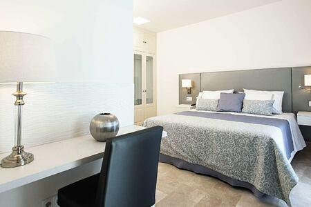 royal villa double bedroom at Bahiazul Villas and Club