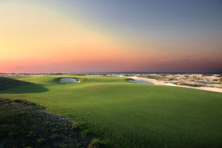 saadiyat beach golf course at st regis island resort abu dhabi