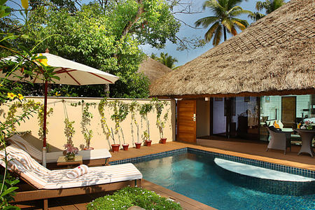 semantha pool villa at Carnoustie Ayurveda & Wellness Resort