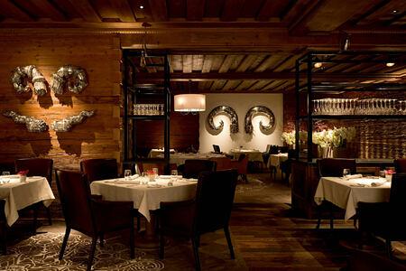sommet restaurant at alpina gstaad hotel switzerland
