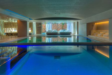 spa pool at aguas de ibiza hotel