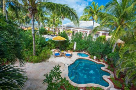 spa and spa pools at sandals emerald bay resort bahamas