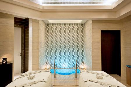 spa - couples treatment room at st regis island resort abu dhabi