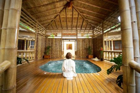 spa jacuzzi at flor blanca resort costa rica
