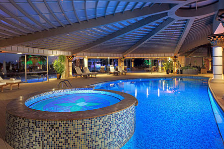 spa pool at sianji wellbeing resort turkey