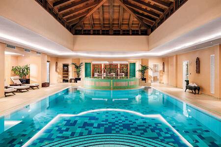 spa pool at hotel botanico tenerife
