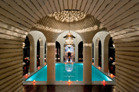 indoor spa pool Selman Marrakech