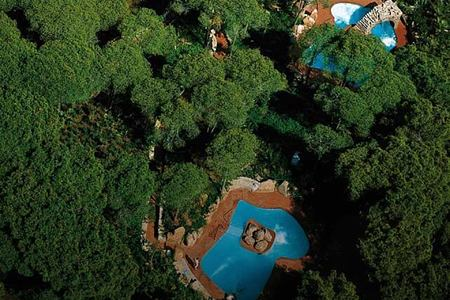 spa pools at Pineta Hotel Italy