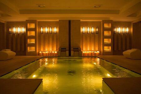 spa roman bath at Borgo Egnazia hotel