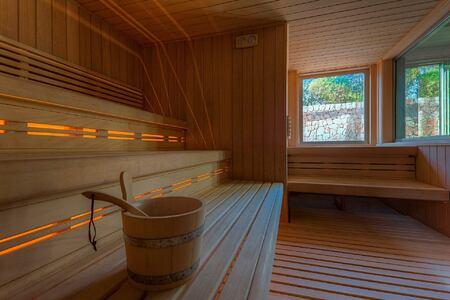 spa sauna finlandesa at aguas de ibiza hotel