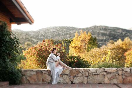 spa terrace at rancho la puerta spa retreat mexico