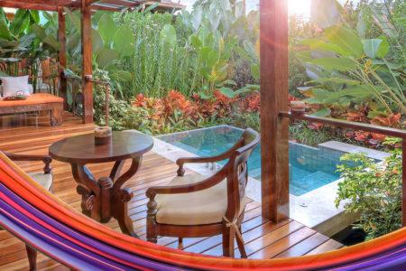 sping villa deck at nayara springs hotel costa rica