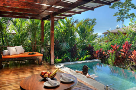 springs villa with private plunge pool at arenal nayara hotel costa rica