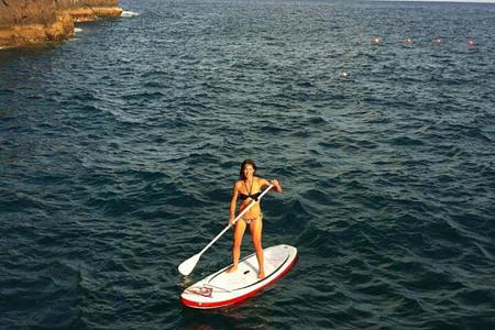 stand up paddle at Gaolosol Resort Madiera
