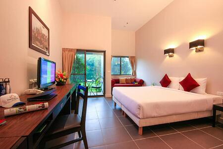 standard room garden wing at thanyapura resort thailand