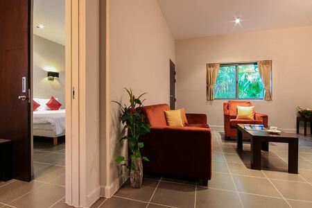 suite in the garden wing at thanyapura resort thailand