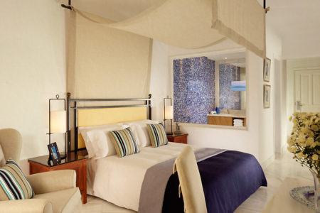 suite with private pool at Mykonos Grand