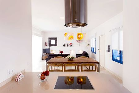 superior club villa open plan living space at Bahiazul Villas and Club