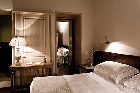 superior room at Castel Monastero hotel