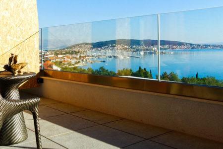 superior room terrace at hotel ola croatia