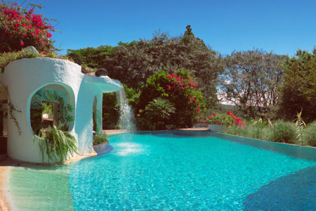 swimming pool at finca rosa blanca resort costa rica