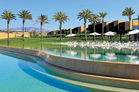 swimming pool at Verdura Resort Italy
