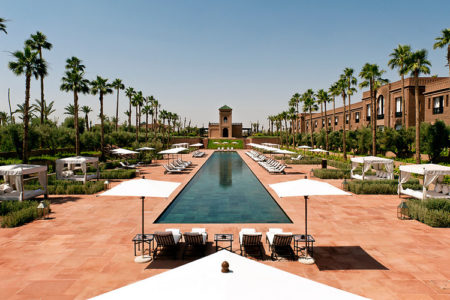 swimming pool Selman hotel Marrakech