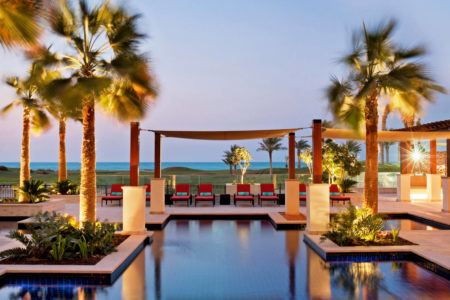 swimming pool for adults only at st regis island resort abu dhabi