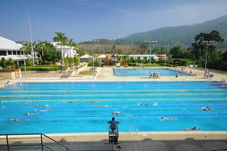 swimming pools at thanyapura resort thailand