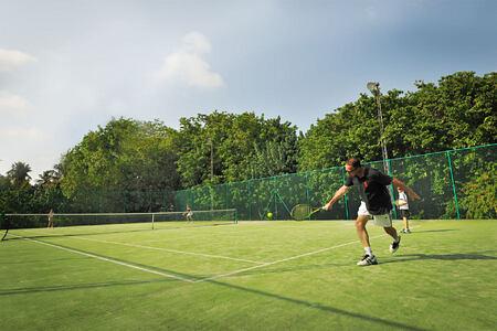 tennis at Bandos Island Resort Maldives