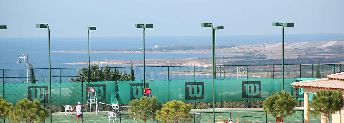 tennis academy at Aphrodite Hills