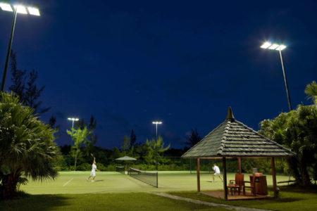 tennis at como parrot cay resort caribbean