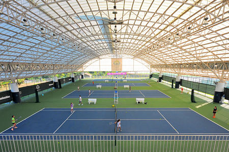 tennis hall at thanyapura resort thailand