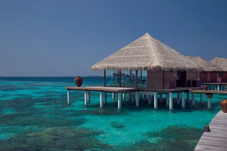 exterior at coco palm bodu hithi resort maldives