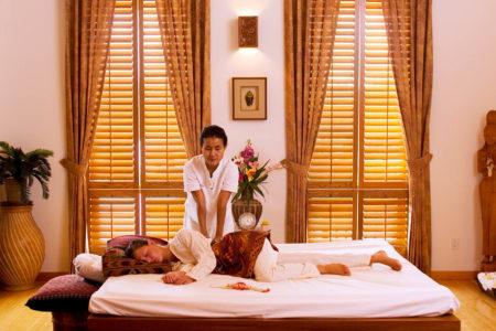 thai massage at echo valley ranch canada