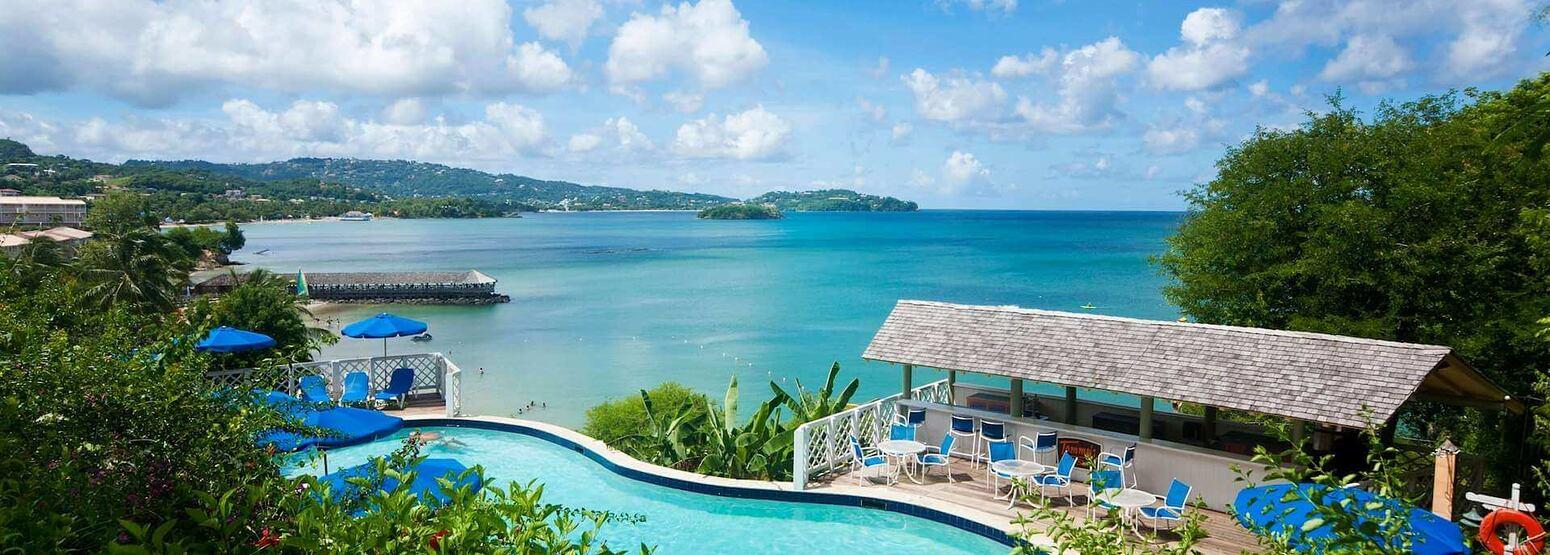 pool at st james morgan bay resort caribbean