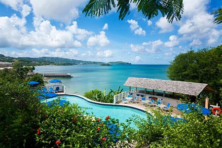 pool at st james morgan bay resort caribbean