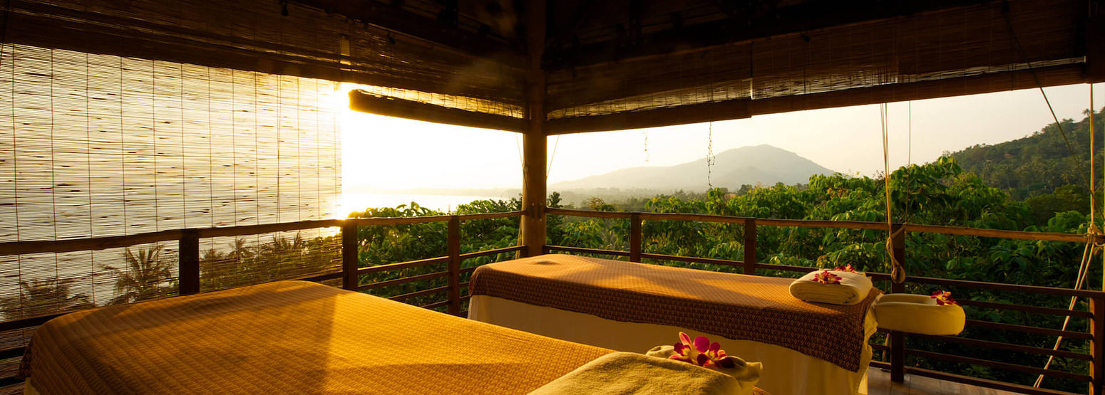 treatment room at kamalaya resort koh samui thailand