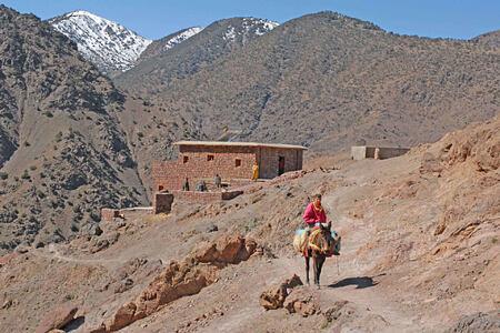 trekking lodge at Kasbah du Toubkal hotel morocoo
