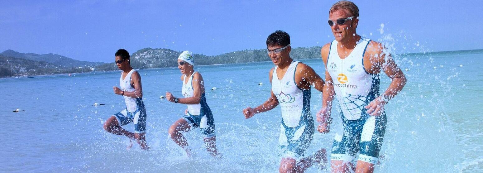 triathlon training at thanyapura resort thailand