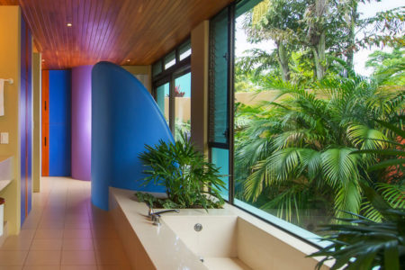 ultra plus villa bathroom at xandari resort and spa costa rica