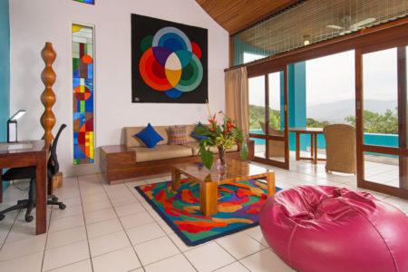 ultra villa living space at xandari resort and spa costa rica