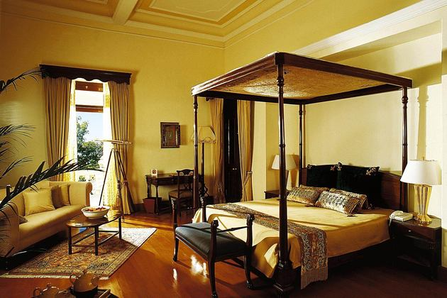 viceregal suite at ananda himalayas hotel india