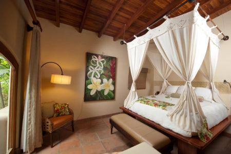 villa five master bedroom at flor blanca resort costa rica