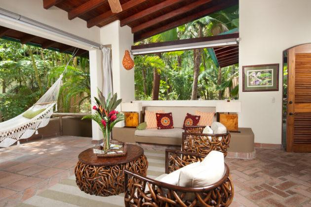 villa three interior at flor blanca resort costa rica