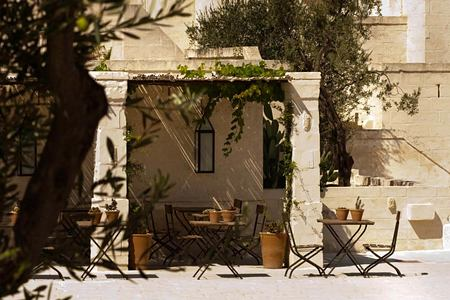 village square at Borgo Egnazia hotel