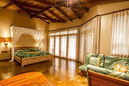 villas junior suite at lost iguana hotel costa rica