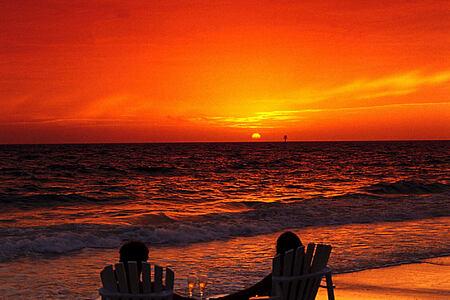 watching the sun set at cambridge beaches resort and spa bermuda